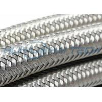 China 304 Metal Stainless Steel Braided Sleeving Full Coverage For EMI Cable Protection wholesale