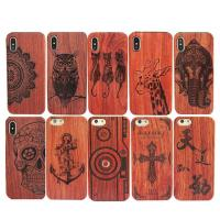 Buy cheap High - End Wood iPhone X Case Comprehensive Protection Personalized Service from wholesalers