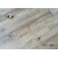 China DIY Wood Grain Tile Flooring , 2mm Thickness PVC Vinyl Tile Flooring Home wholesale