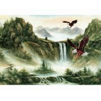 China (25*35cm) 3D scenery poster wholesale