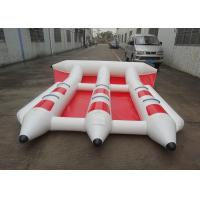China Firproof Custom Inflatable Flying Fish Boat Water Surfing Board Water Equipmen on sale