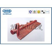 China Power Station Boiler Header Manifolds Oil Fired Boiler Parts TUV Certification wholesale