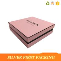 China Silver First   hot sale custom printed cardboard luxury paper clothing packaging box wholesale
