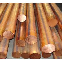 China Red copper solid round bar / red copper bar dia 10 - 100mm C11000 C10200 wholesale