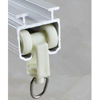 China Factory directly supply Curtain Rail Fitting Extruded Aluminum Profiles Curtain Track 6063 Material wholesale