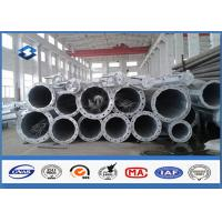 China HDG Electrical Tubular Steel Pole High strength low alloy structural steels wholesale