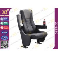 Cinema Projects Special Design Cinema Theater Chairs With Integrated Cup Holder Manufactures