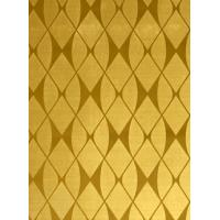 China PVD Gold Mirror Etched stainless steel sheet decorative for wall panel wholesale
