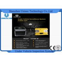 China Hig resolution CCD camera UV300m under vehicle inspection system from Uniqscan wholesale