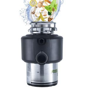 China DSM 3/4 HP New Kitchen Food Garbage Processor Disposal Crusher AC motor black color wholesale