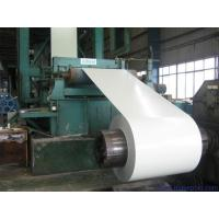 China White / Grey Prepainted Galvanized Steel Coil For Building Material 600 - 1250mm Width wholesale