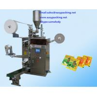 China Electrical Driven Type and New Condition Automatic Hotel Tea Sachet Packing Machine wholesale