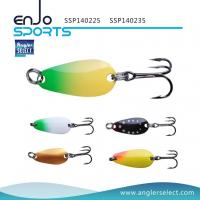 China Angler Select Top Water Spoon Fishing Tackle Lure with Vmc Treble Hooks (SSP140225) wholesale