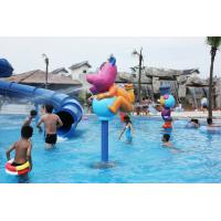 China Rabbit Cartoon Aqua Play Structures, Spray Park Equipments, Water Playground Equipment wholesale