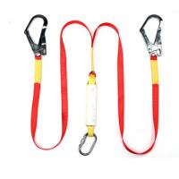 Buy cheap Shock Absorbing Double Hook Body Safety Belt Safety Protection Equipment from wholesalers