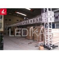 China Newest Light Weight Banner Chauvet Goal Post Truss Kit For DJ / Mobile Show wholesale