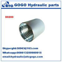 China Sae 100 R2AT/EN 853 2SN Stainless Quick Connect Fittings , Quick Connect Connector wholesale