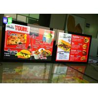 China Edge Lit LED Poster Frame Light Box 27X40 Movie Panel Aluminum Wall Mounted wholesale