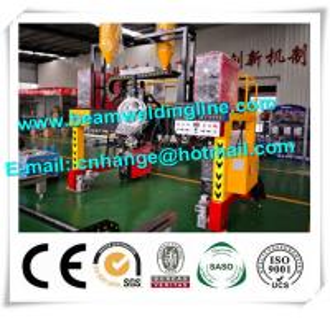 China H Beam Horizontal Welding Machine Mechanical Type Tracking Method Gantry Type Trailer wholesale
