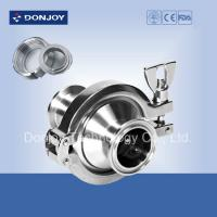 China Threaded check valve with middle clamp 1 inch SMS RJT ISO IDF thread connection wholesale