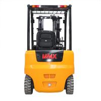 China Pneumatic Tyres Battery Operated Forklift 2500kg Load Capacity ZAPI Controller AC Motor wholesale