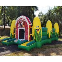 China Fall Event Inflatable Sports Games / Inflatable Corn Maze Obstacle Course wholesale