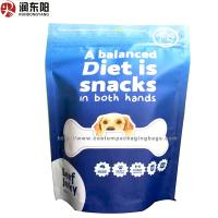 China Any Thickness Plastic Stand Up Pouches Heat Seal Sied Gusset Bag For Pet Food wholesale