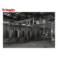 China Popular Dairy Processing Line Soya Bean Manufacturing Machines Tin Can / Plastic Bag on sale
