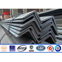 China Hot Dip Galvanized 8ft-19.6ft Steel Angle Channel For Electric Power Tower Construction wholesale