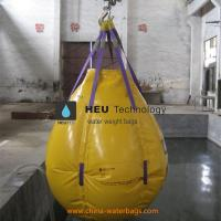 China High Quality PVC Fabric Crane Load Test Water Weight Bags/Professional PVC Water Filled Weight Bags for Crane Load Test wholesale
