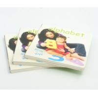 Quality Hardcover Baby Alphabet Memory Book Offset Printing Service Art Paper Cover for sale
