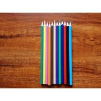 China Deyi stationery mixing paint colors color plastic pencil wholesale