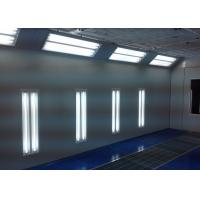 China 6.9M Water Curtain Paint Spray Booth , Commercial Paint Booth In Garage wholesale