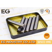 China Crucible Solid Graphite Rod 10.4 x 100mm For Gold Stir Molten Polished Mirror Surface wholesale