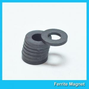 China Industrial Large Ring Shape Ferrite Speaker Magnet 53mm X 24mm X 11mm wholesale