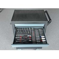 China 27 Inch Red Black Blue Garage Storage Metal Trolley Tools Cabinets With 7 Drawers wholesale