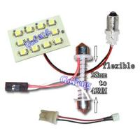 China Low Heat Generation Amber LED Car Dome Lights with 12 PCS / 18 PCS / 5050 SMD / 3528 SMD wholesale