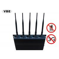 Quality Power Adjustable Cell Phone Signal Jammer High Security Relative Humility ≤90% for sale