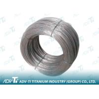 China Silver Grey 2000mm gr2 gr5 Titanium Alloy Wire for Fastener wholesale