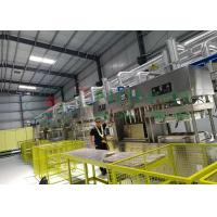 China Compostable Paper Pulp Molding Machine / Manual Tableware Food Tray Line on sale