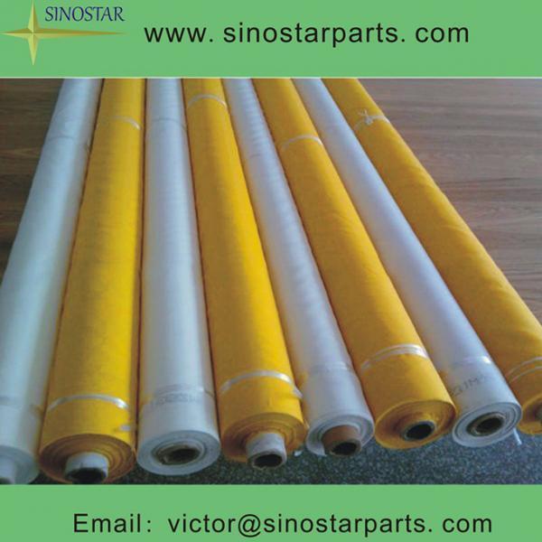 Quality 100% polyester/nylon Monofilament silk screen printing mesh for sale