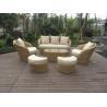 garden rattan sofa set Manufactures
