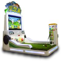 Buy cheap Indoor Crazy Mini Golf Kids Arcade Machine For Amusement Center 500 W Power from wholesalers