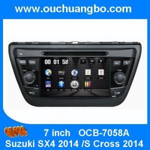 China Ouchuangbo Car GPS DVD Stereo for Suzuki SX4 2014 /S Cross 2014 USB iPod Radio Player OCB-7058A on sale