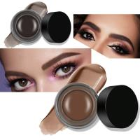 Buy cheap Long Lasting Eyebrows Makeup Products , Waterproof Eyebrow Gel OEM 9 Colors from wholesalers