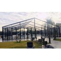 Buy cheap 20x40m Transparent Aluminum Structure Tent With Glass Sidewall And Glass Door from wholesalers