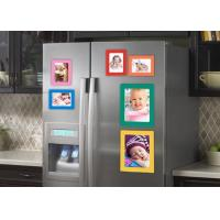 China Waterproof Photo Print Fridge Magnet , Square Photo Magnets ISO Approved wholesale