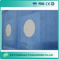 Surgical Angio Drapes With Dual Circular Fenestration Manufactures