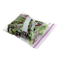 China Transparent OPP Plastic Vegetables Packaging Bags with Zipper wholesale