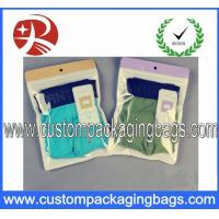 China Underwear Plastic Ziplock Bags Laminated Non-toxic With Recyclable wholesale